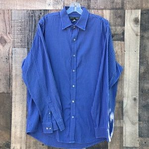 Men's Banana Reoublic Heritage Button Down Blue